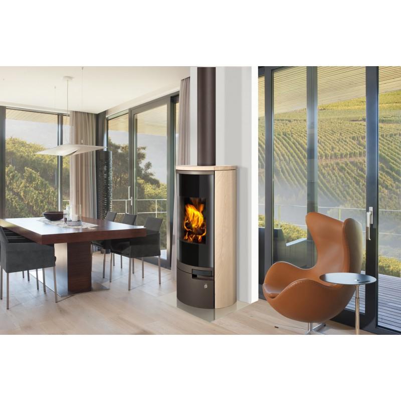 poele bois romotop belorado bbc pas cher. Black Bedroom Furniture Sets. Home Design Ideas