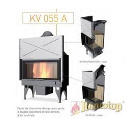 Foyer à bois - ROMOTOP - KV 055 A