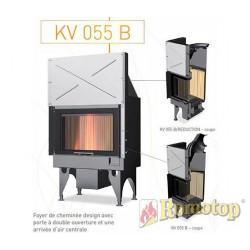 Foyer à bois - ROMOTOP - KV 055 B