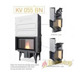Foyer à bois - ROMOTOP -  KV 055 BN