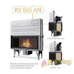 Foyer à bois - ROMOTOP - KV 065 AN