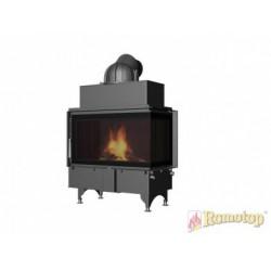 Foyer à bois - ROMOTOP -  AR2SF - 01
