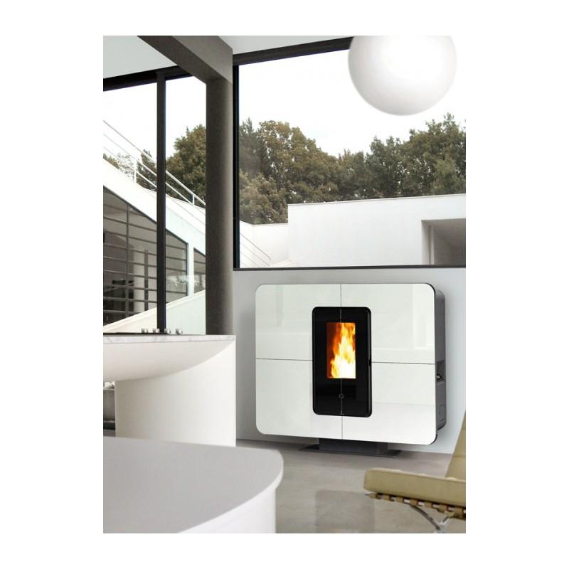 po le granul s thermorossi slimquadro 11 chaleur. Black Bedroom Furniture Sets. Home Design Ideas