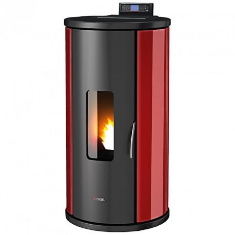 Poêle à granulés - CADEL - SFERA plus  verre  - 10.5  kw