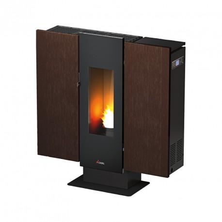 poele granul cadel wall. Black Bedroom Furniture Sets. Home Design Ideas