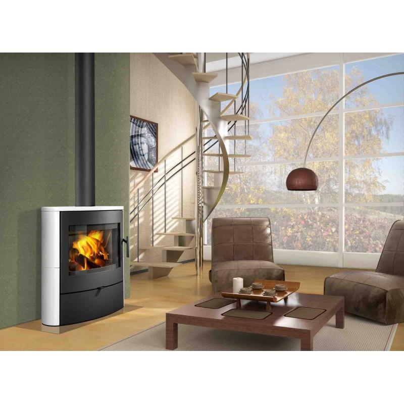 po le bois romotop navia chaleur et cuisson. Black Bedroom Furniture Sets. Home Design Ideas