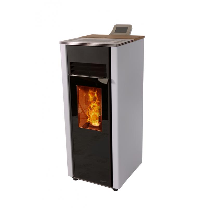 po le granul s hoben h5 signature c steel chaleur et cuisson. Black Bedroom Furniture Sets. Home Design Ideas