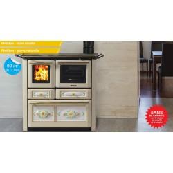 Cuisinière à bois - Lincar - Aurora 149 AVL