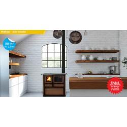 Cuisinière à bois - Lincar - Gaia 148 / 148V /148 SX