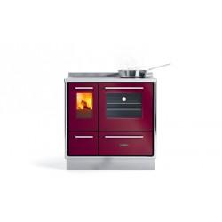 Cuisinière à bois - J.CORRADI - Moderna 90 L