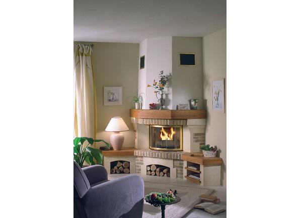 Chemin e rustique chazelles neuville for Dessus cheminee exterieure