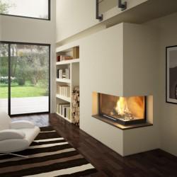 Foyer à bois - Totem - Latéral technika